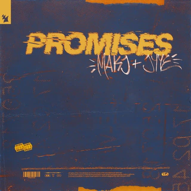 MAKJ JYYE Promises Extended Mix Armada Music mp3 image 640x640 - Top 5 (24/12/2020)